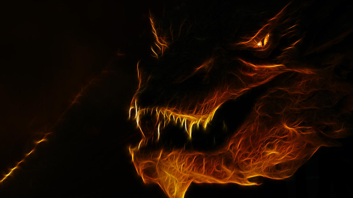 Fractal Smaug HD by Myssham