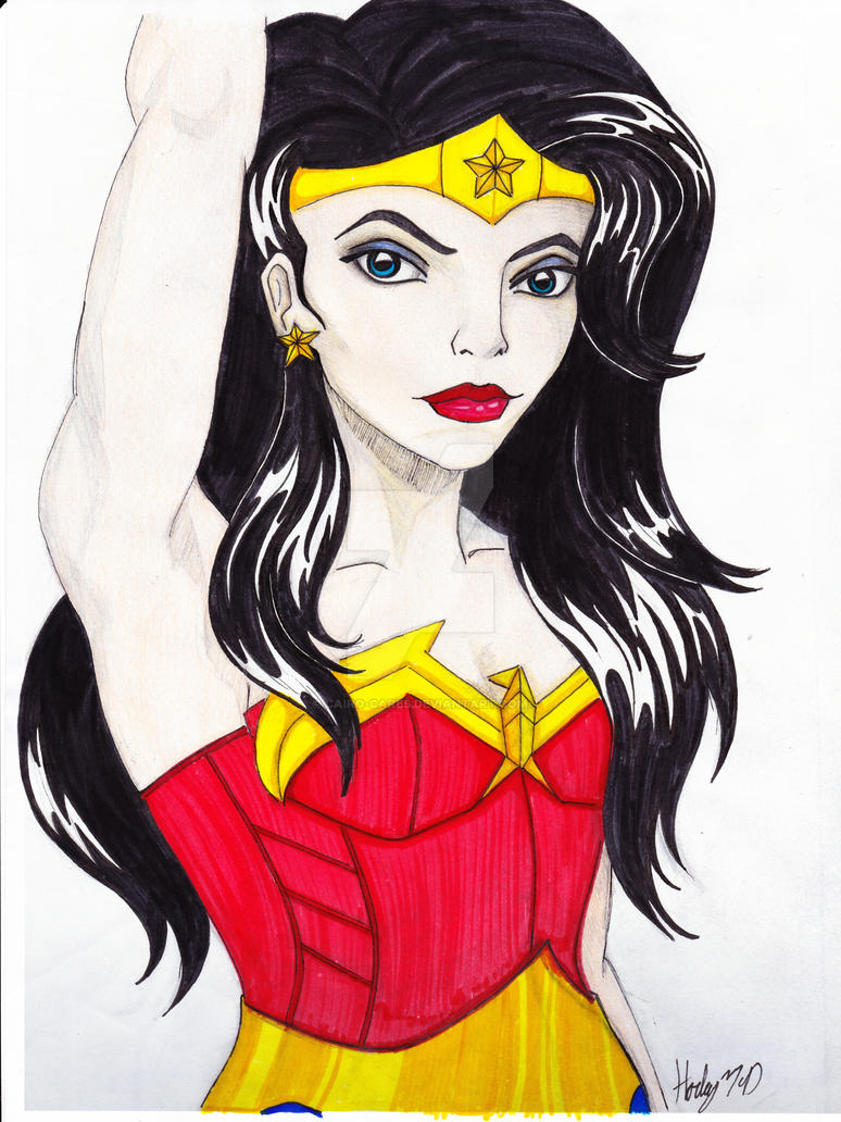 Wonder Woman Color Practice By Cairo Cares On Deviantart