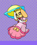Animal Crossing Crossover - Princess Goldie