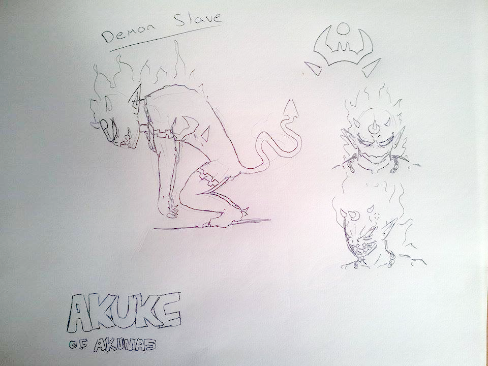 The Glowing Shadow Akuke Of Akumas