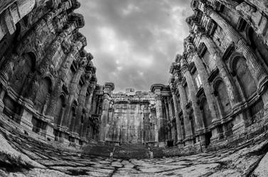 Temple of Bacchus by bee-eye