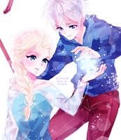 xover: jack x elsa by califlair