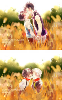gyumi: happy birthday, gyurei + shiren