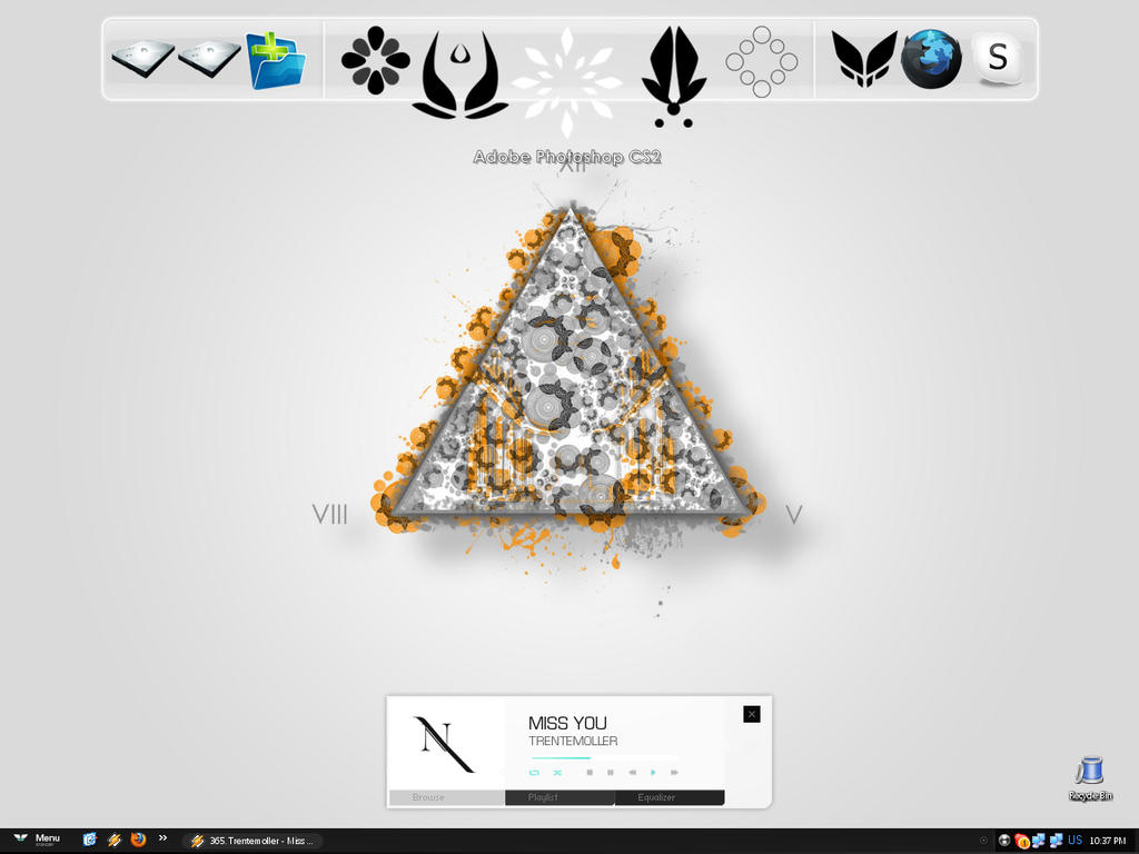 My desktop by coldenergie