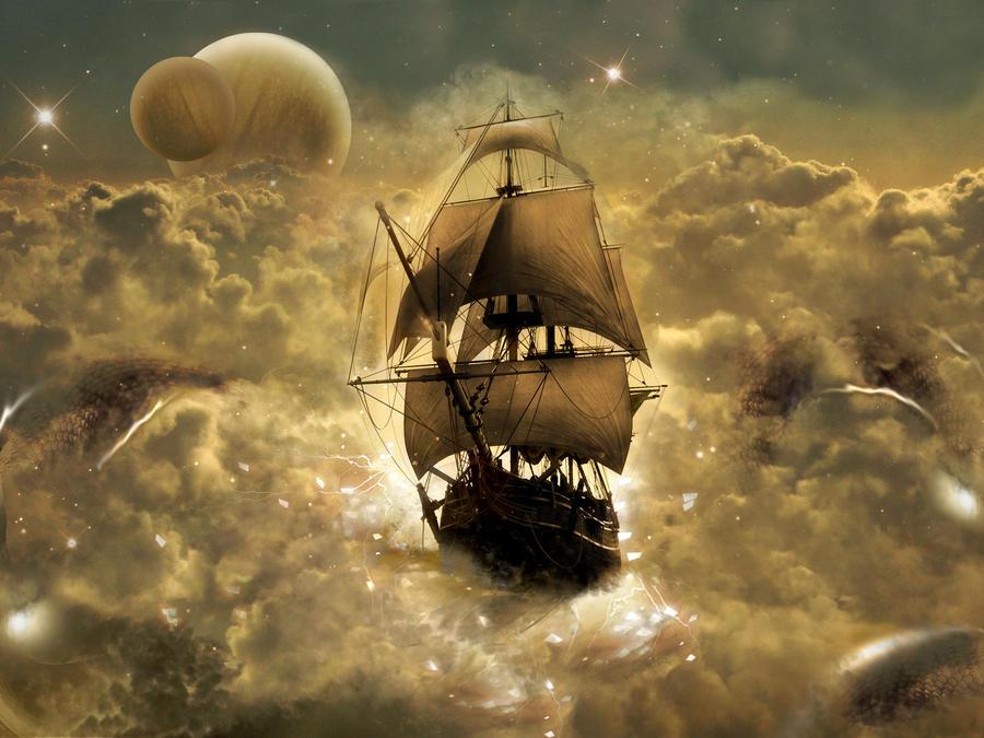 Jupiter sailing by coldenergie