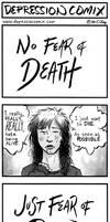 depression comix #230 (trigger warning) by depressioncomix