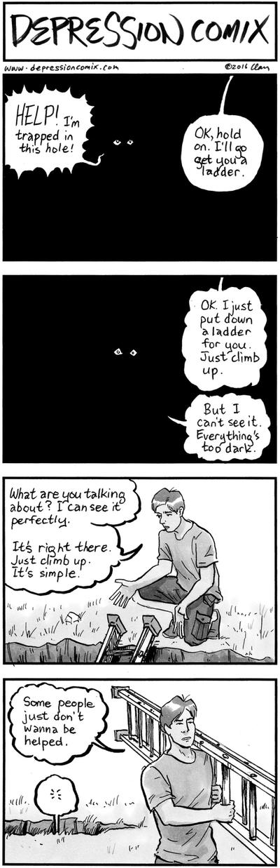 depression comix #309 by depressioncomix