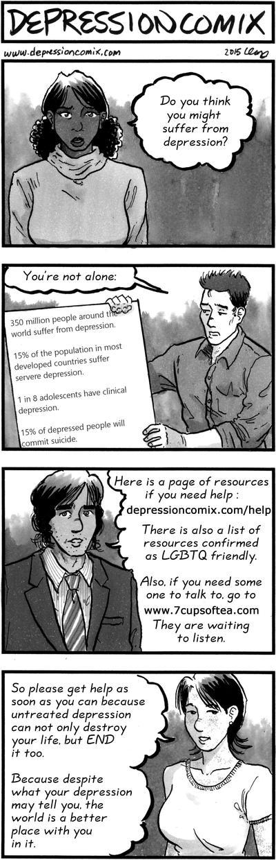 depression comix #0