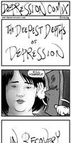 depression comix #386 [tw: suicidal ideation] by depressioncomix