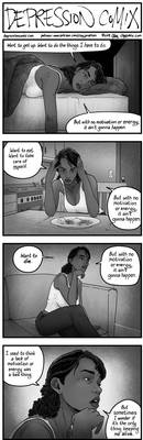 depression comix #415 [tw: suicidal ideation]