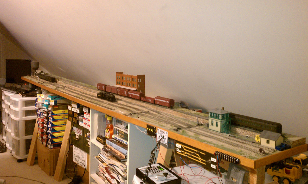 My HO Shelf Layout By ShayNo7 On DeviantArt