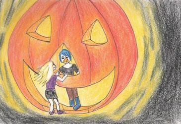 pumpkin patch by noxavis