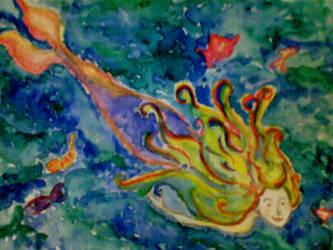 Isla the Mermaid by noxavis