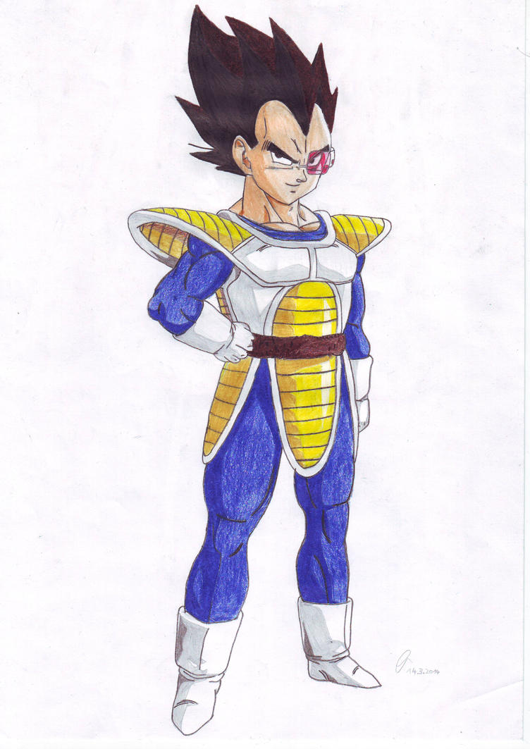 Vegeta - Prince of the Saiyans by DashApple