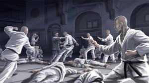 Ip Man vs Ten Black Belts
