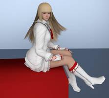 Tekken: Emilie Blender Render by RuiDX