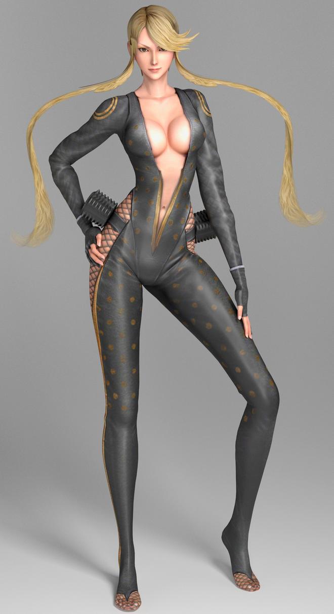 Female Character Modeling In Blender : Sengoku basara kasuga by ruidx on deviantart