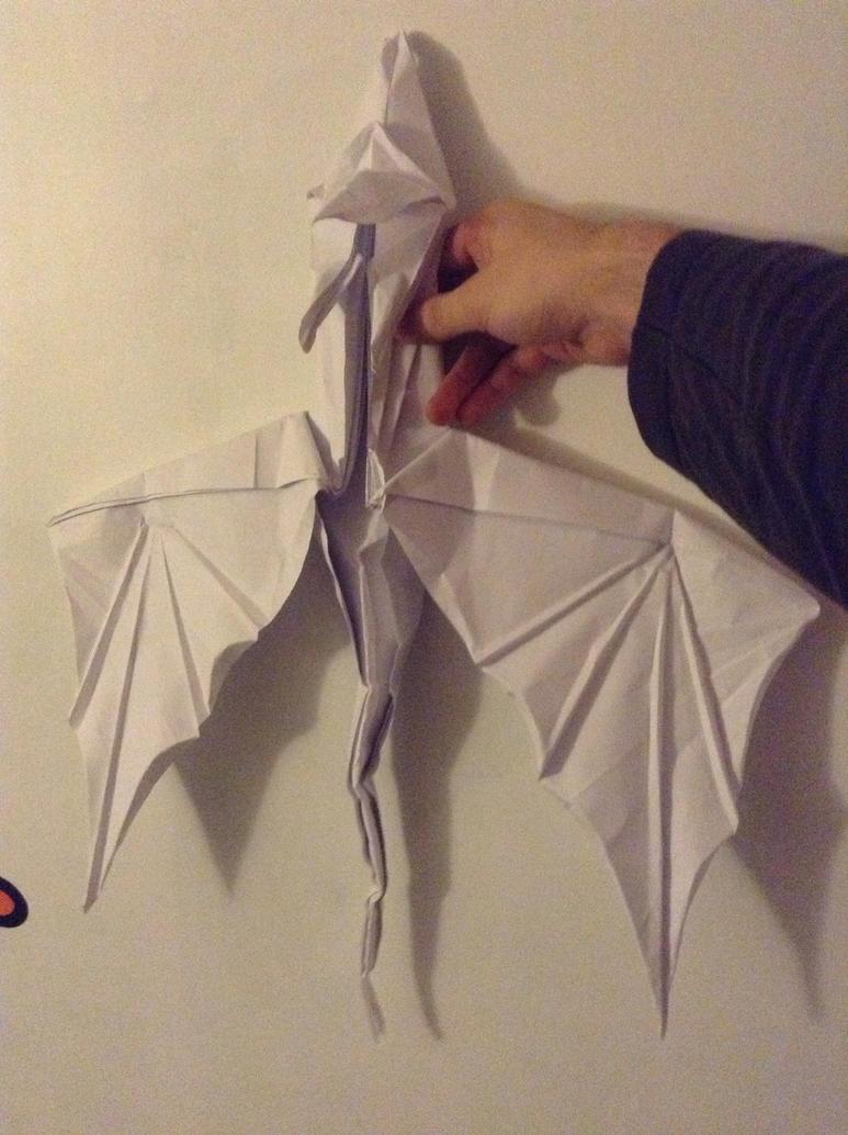 Oriagami giant dragon by Batsuto