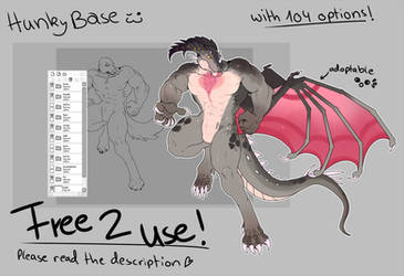 Free 2 use Hunky Base by Lord-Cayy