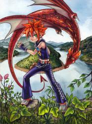 Fantasy Character color by AgataKa19