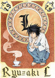 tribute to Death Note by AgataKa19