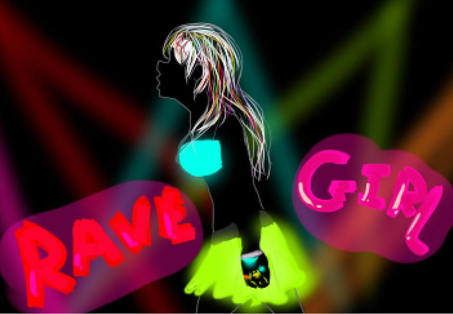 i know this pretty rave girl № 648165