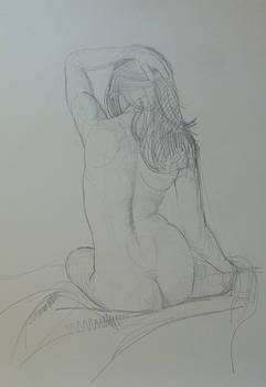 Nude study pencil