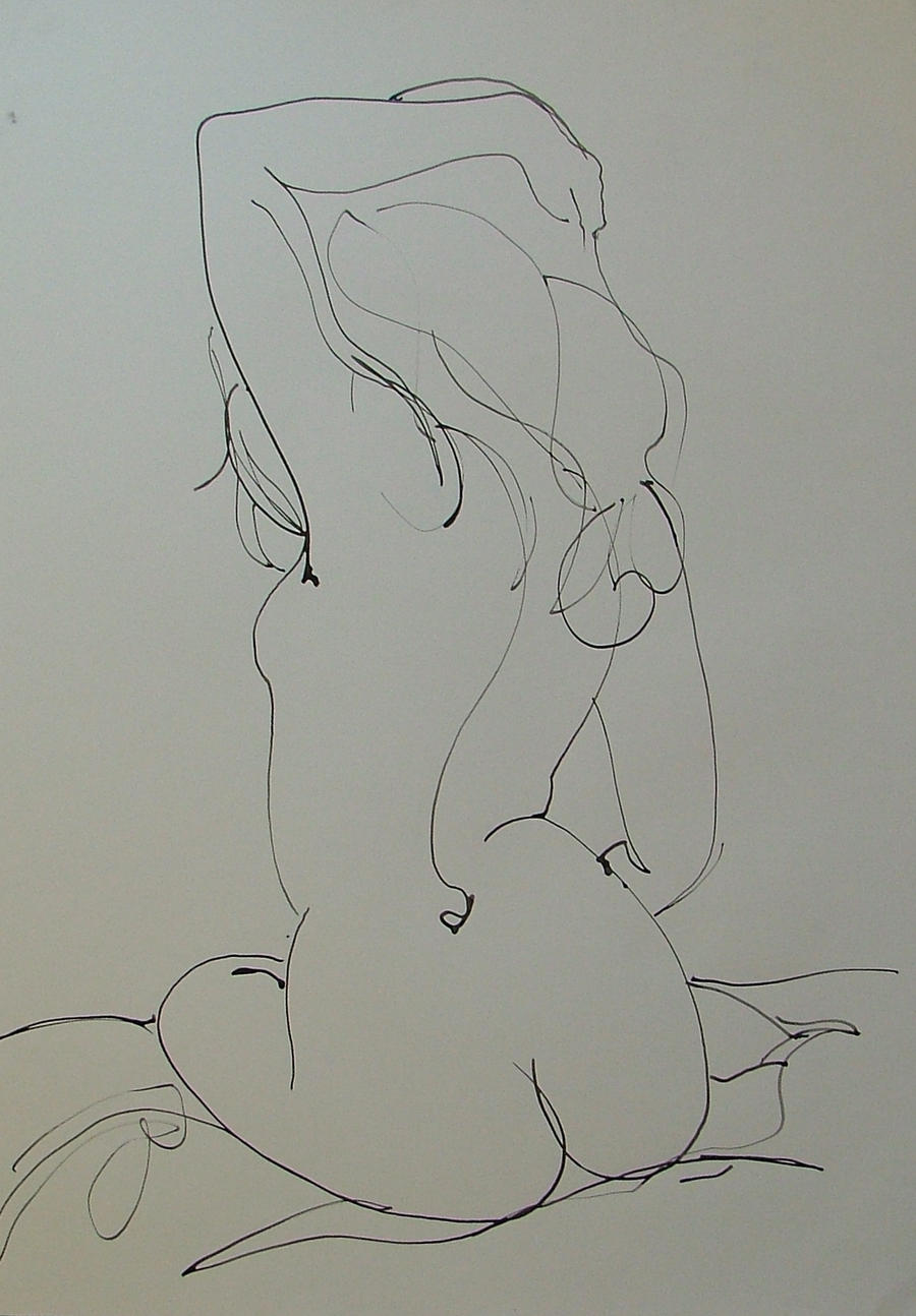 Nude back Ink by RFord-Art
