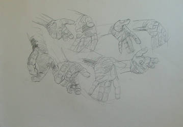 More Hand studies by RFord-Art