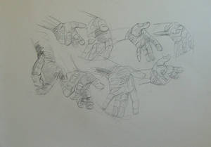 More Hand studies