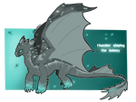 Night Fury ADOPT - OTA - OPEN ! by TheArgentWolf