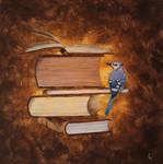 Blue Dot of Book Love