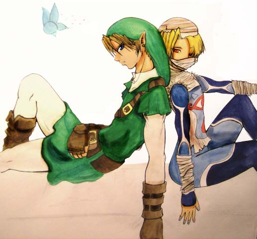 link and sheik wallpaper - photo #36