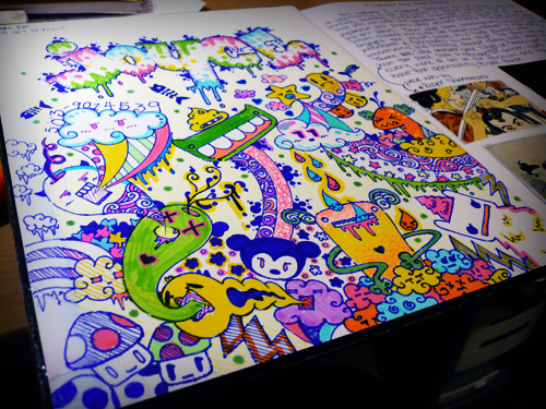 Yearbook Cover Drawing : Yearbook cover drawings