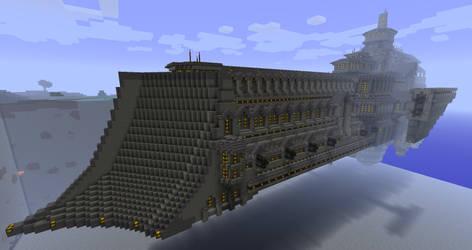 Minecraft spaceship, 40K by VV01