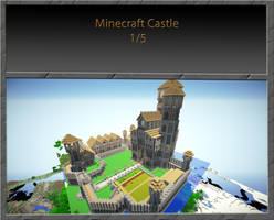 Minecraft castle 1 of 5 by VV01