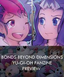 [ZINE] Bonds Beyond Dimensions Preview by akatsukibunnyX3