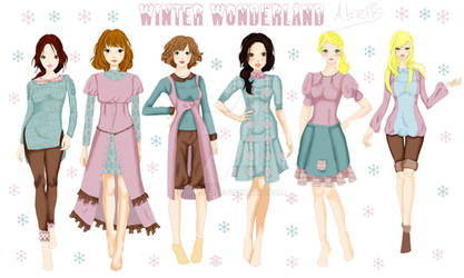 Winter wonderland Collection 2015 by Irial22