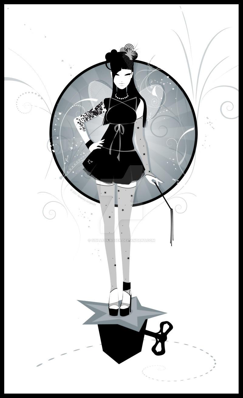.:black fairy:. by StillesWasser