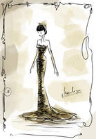 .:fashion illustration | figurine 3:.