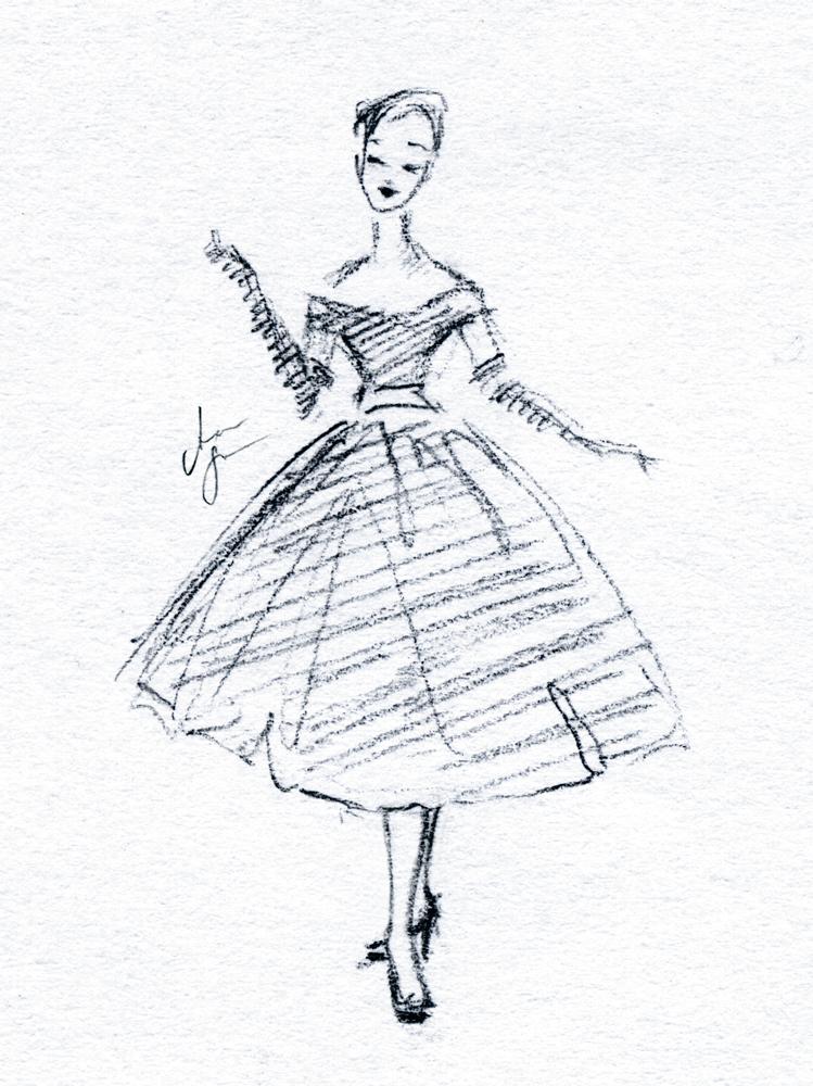 fashion illustration vintage by stilleswasser on