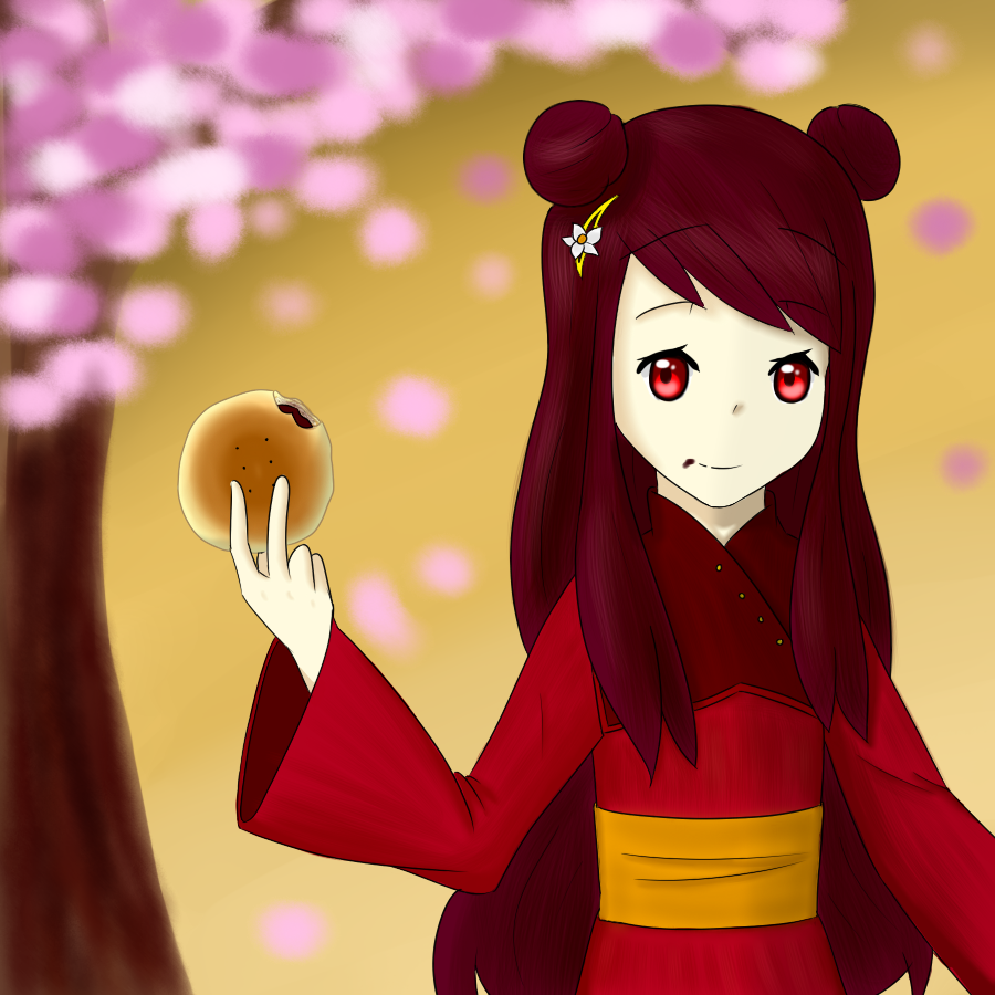 Red Bean - angiewaiwai's OC - Contest entry by AlanxKitsune