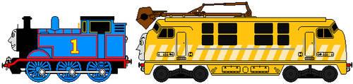 Sprite - Thomas And Diesel 10 by Chandlertrainmaster1