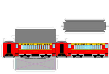 SRC 3D Coach 200 (Red) by Chandlertrainmaster1