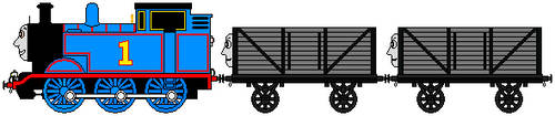 Sprite - Thomas And The Troublesome Trucks by Chandlertrainmaster1