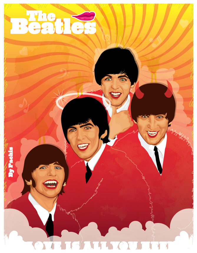 The Beatles by PaChIkNo