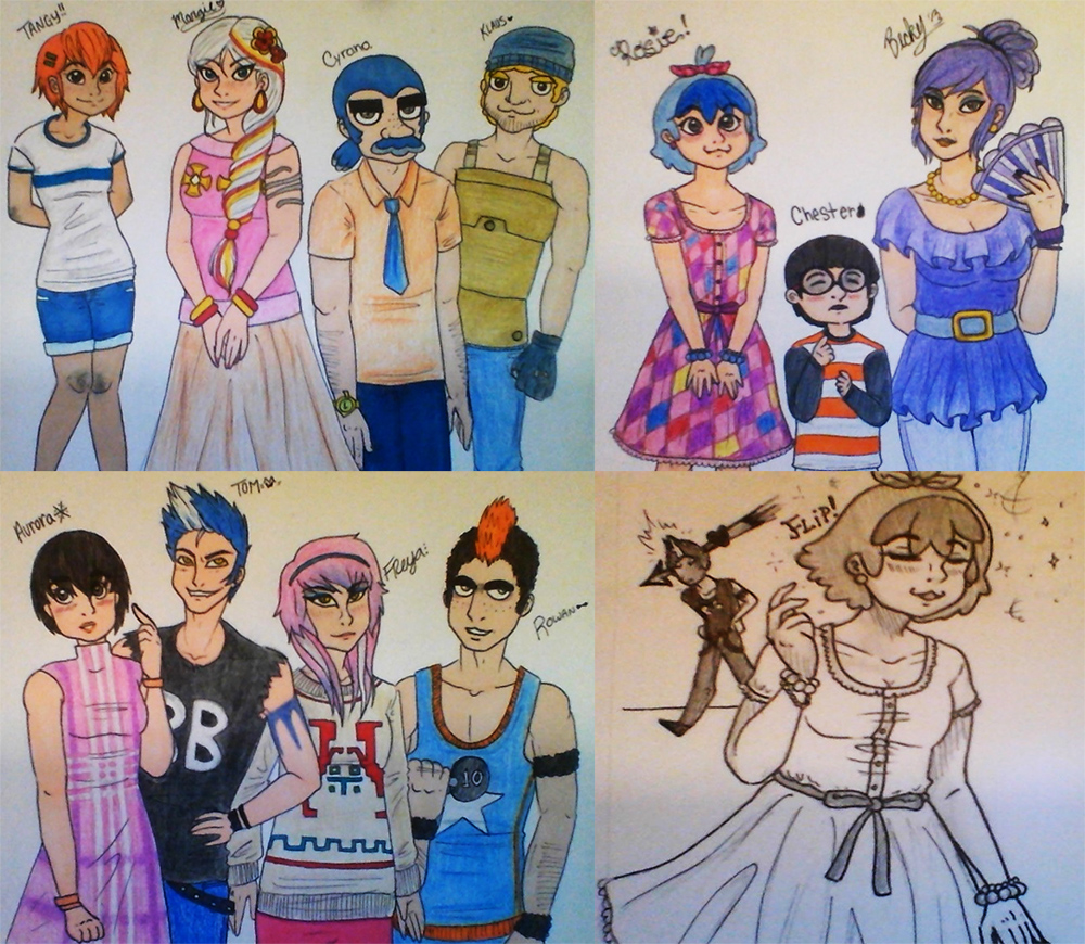 Animal Crossing Human Villagers By Dramaqueen 19947 On Deviantart