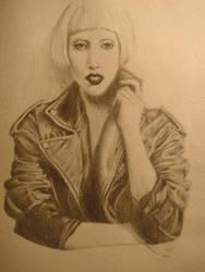 Lady Gaga - Vogue April by Phongsworld