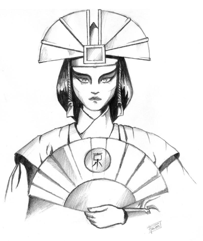The Last Airbender Avatar Kyoshi: Avatar Kyoshi By Sapiains On DeviantArt