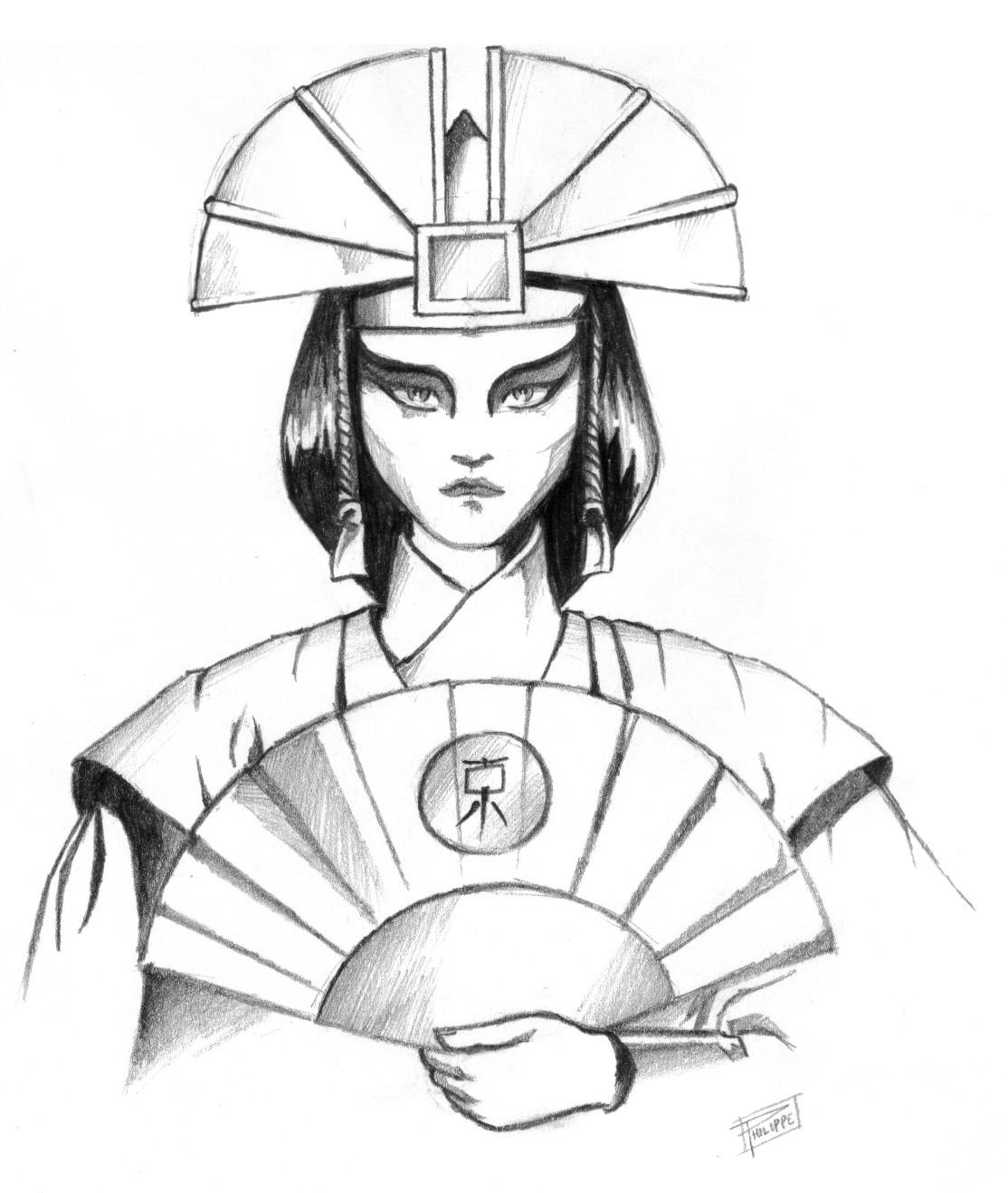 Avatar Kyoshi by Sapia...